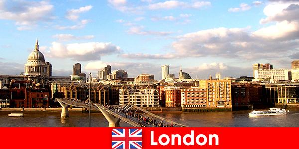 Дозвілля туристів у місті Лондон Англії
