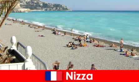 Nice красивих пляжів французької рив'єри