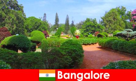Відпочиваючі в Бангалорі люблять заспокійливу красивих парків і садів