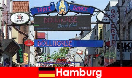 Гамбург Репербан-нічне життя борделі та ескорт-сервіс для секс-туризму