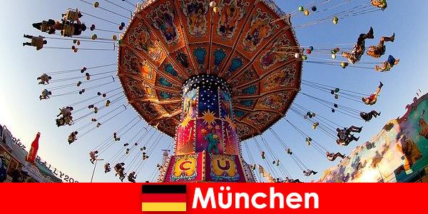 Міжнародні спортивні змагання та Oktoberfests в Мюнхені є магнітом для гостей
