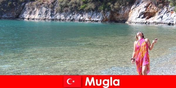 Пляжний відпочинок в Мугла, один з найменших провінційних столиць Туреччини