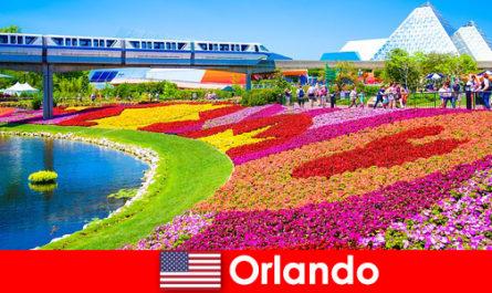 Орландо Туристична столиця Сполучених Штатів з численними тематичні парки