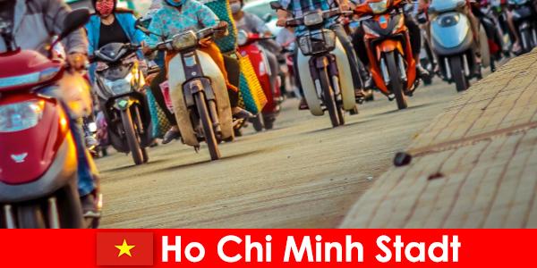 Хошимін для велосипедистів і любителів спорту туристам завжди приємно