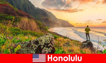 Гонолулу славиться пляжами, морем, заходом сонця для оздоровчих та оздоровчих свят