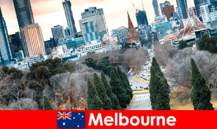 Культурне розмаїття в Мельбурні також радує короткі перерви