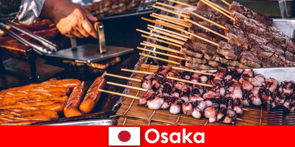 Осака – це кухня Японії і точка контакту для тих, хто шукає свято пригод