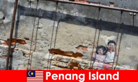 Захоплююче і різноманітне вуличне мистецтво на острові Пенанг вражає незнайомців
