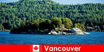 Для іноземних туристів відпочиньте і пориньте в прекрасний природний ландшафт Ванкувера в Канаді