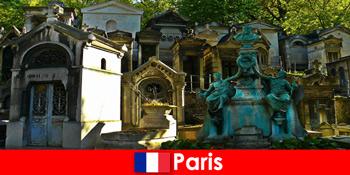Європейська поїздка для любителів кладовищ з надзвичайними похованнями у Франції Парижі