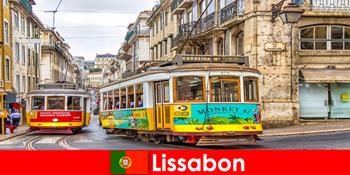 Історичні вулиці Лісабона Португалія з відтінком ностальгії за культурними мандрівниками