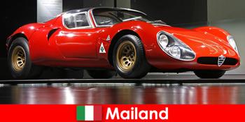 Мілан Італія завжди популярне місце для любителів автомобілів з усього світу