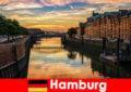 Архітектурна краса і розваги для коротких перерв в Гамбурзі Німеччина