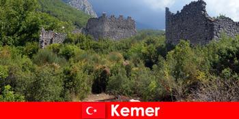Навчальна поїздка до стародавніх руїн До Кемера Туреччина для дослідників