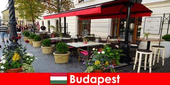Коротка перерва призначення в Будапешті Угорщина для відвідувачів зі смаком вишуканої кухні