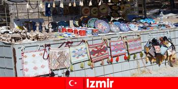Прогулянки для незнайомців в базарних районах Ізміра Туреччини