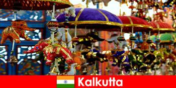 Барвисті релігійні церемонії на Калькутті Індія подорожі відгук для незнайомих людей