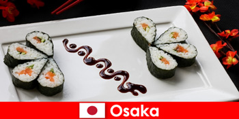 Осака Японія для незнайомих людей кулінарний тур по місту