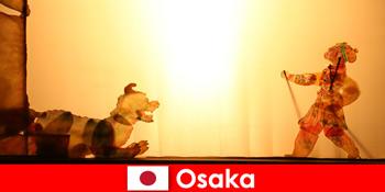 Осака Японія приймає туристів з усього світу в комедійну розважальну подорож
